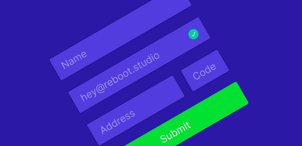 20 UI insights to design good forms for web and app